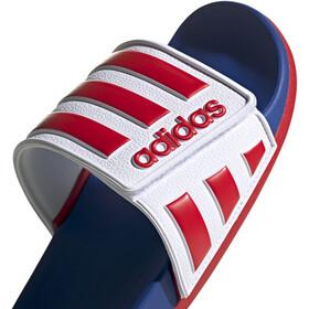 adidas Adilette Comfort AD Sandalias Hombre, footwear white/scarlet/royal blue